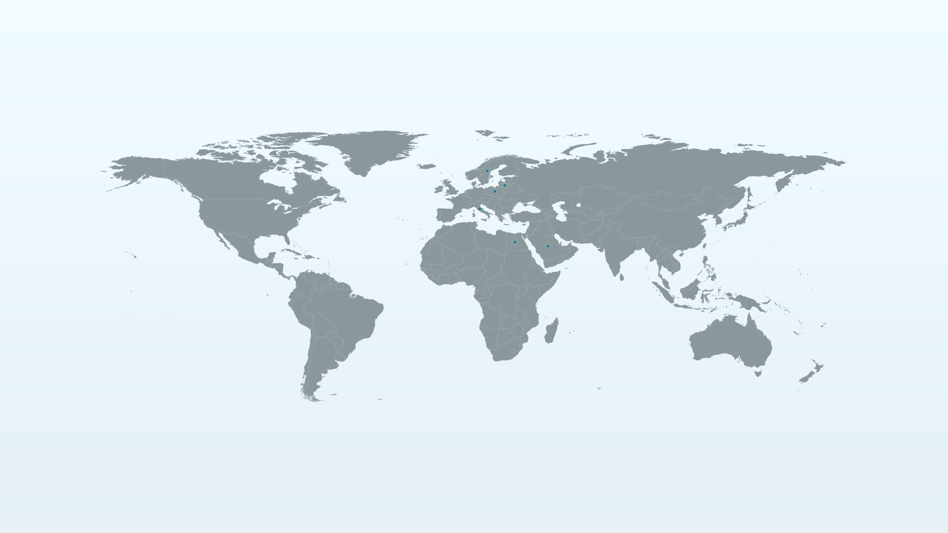 KD Group references world map